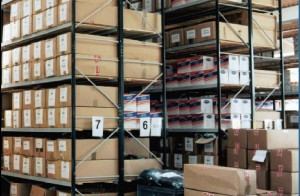 Warehouse shelving supplier