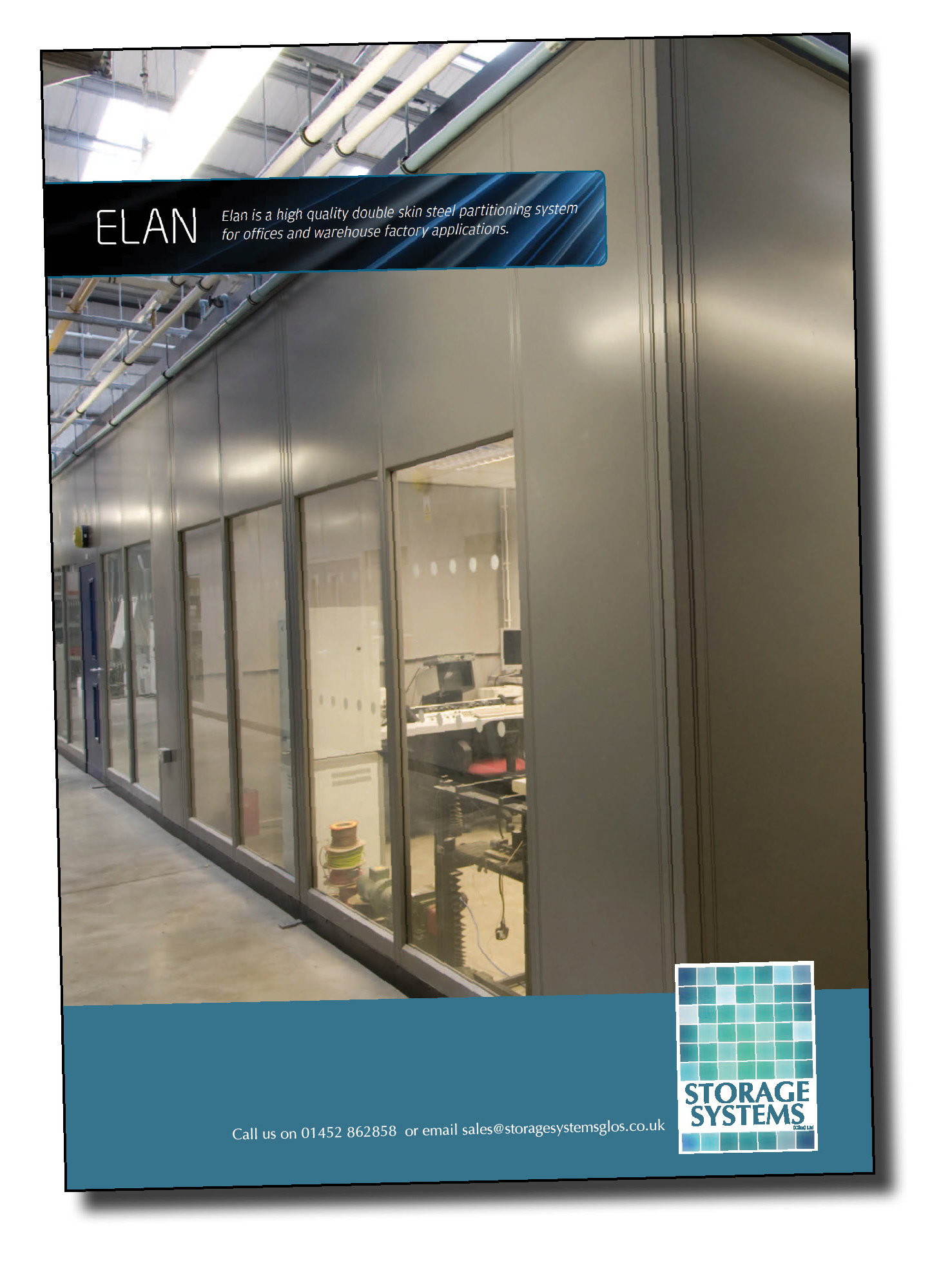 Click to download Gloucestershire warehouse and factory partitioning supplier Storage Systems' brochure